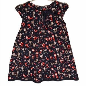 Kid's H&M Fox Print Corduroy Dress